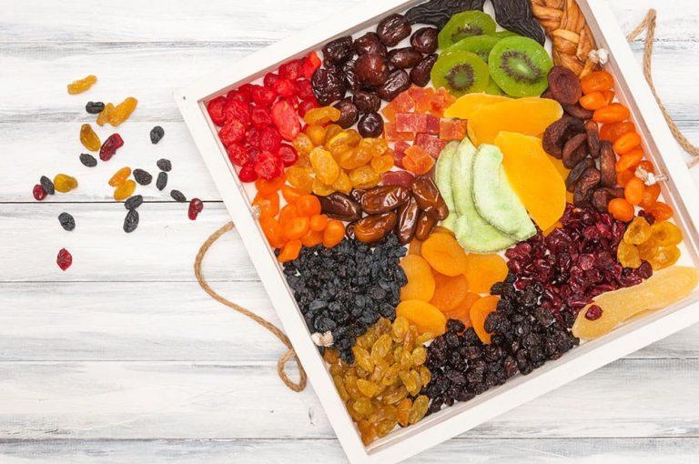 Trái cây sấy khô có nhiều lợi ích cho sức khỏe